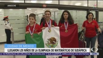 Llegan ganadores de Olimpiada de Matemáticas apoyados por del Toro