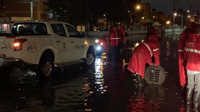 Foto: Inundaciones en Cuautitlán, Izcalli. 6 de agosto de 2019, Estado de México