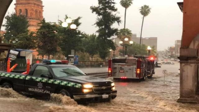 Lluvias causan inundaciones y daños en casas en Fresnillo, Zacatecas
