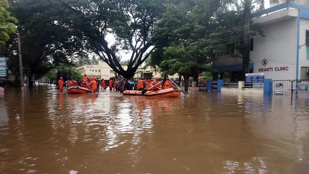 Foto: Las lluvias de la época de monzón han causado al menos 65 muertos en el sur de la India., 9 agosto 2019