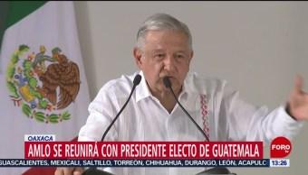 FOTO: López Obrador se reunirá con presidente electo de Guatemala, 18 Agosto 2019