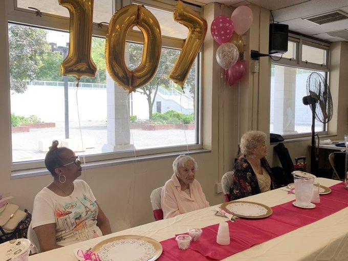 Louise Signore mujer longeva de 107 años nueva york