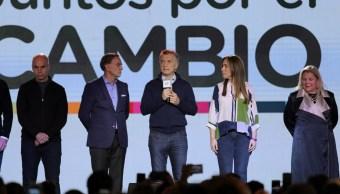 Foto: El presidente de Argentina, Mauricio Macri, pide a su partido redoblar los esfuerzos para octubre, el 11 de agosto de 2019 (Reuters)