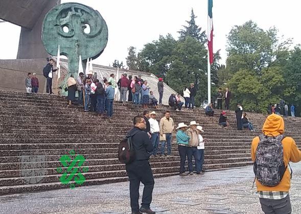 Foto Marchan campesinos en la CDMX; bloquean accesos carreteros 8 agosto 2019