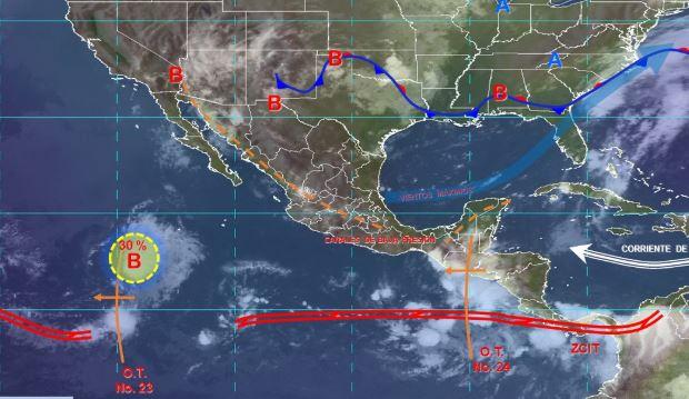 Foto: Imagen de fenómenos meteorológicos significativos de las 06:00 horas, 3 agosto 2019