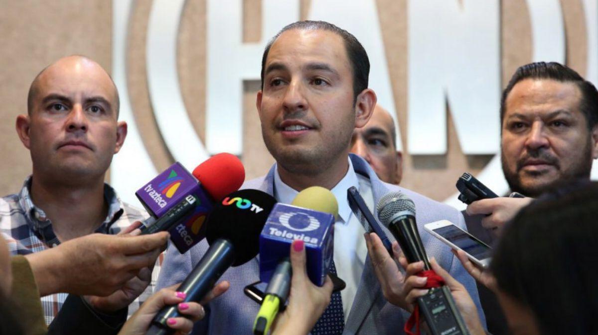 Marko Cortés, presidente del PAN