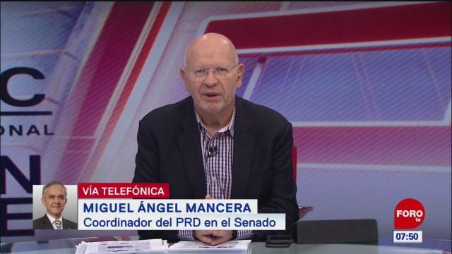 México debe endurecer la medida sobre el tráfico de armas, dice Mancera