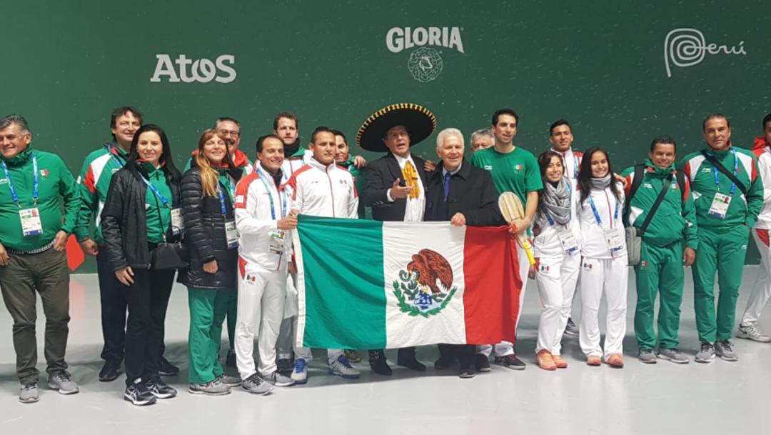 Fotos: El tercer puesto en el medallero obtenido por México en la cita panamericana peruana representa un logro que no se habría presentado en 64 años, 11 de agosto de 2019 (Twitter @COM_Mexico)
