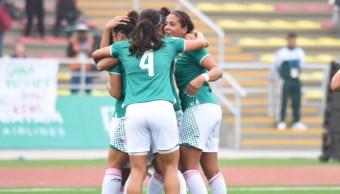 Foto: Sin mucho a la ofensiva en el primer lapso, México sabía que un descalabro lo dejaba eliminado de Lima 2019, 3 de agosto de 2019 (Twitter @COM_Mexico)