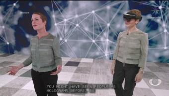 Foto: Microsoft Transforma Hologramas 6 Agosto 2019