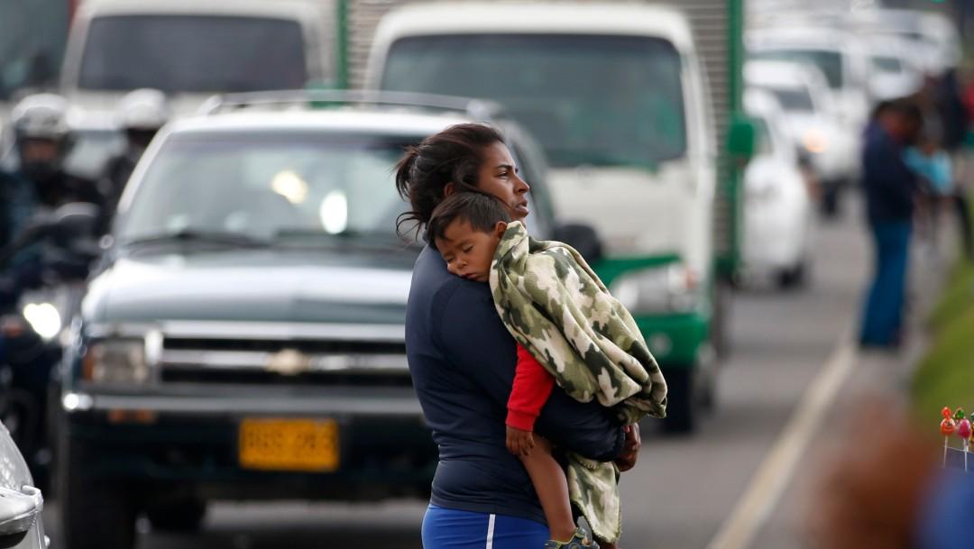 Foto: Migrante venezolana en Colombia, 4 de abril de 2019, Colombia