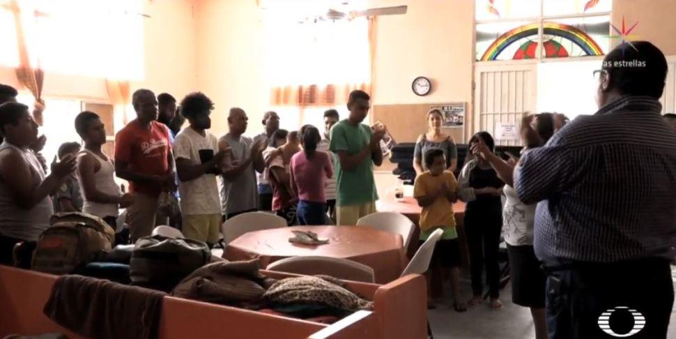 Foto Migrantes abarrotan albergues en espera de asilo político EU 12 agosto 2019