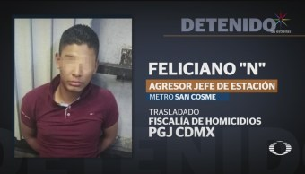 Foto: Militar Ebrio Mató Jefe Estación Metro San Cosme 29 Agosto 2019