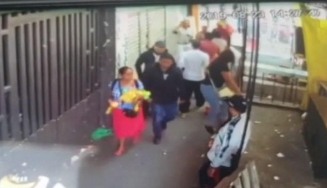 homicidio de comerciante en La Merced