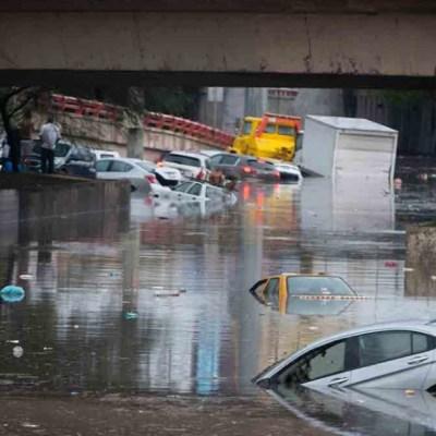Fuertes lluvias dejan dos muertos e inundaciones en Monterrey