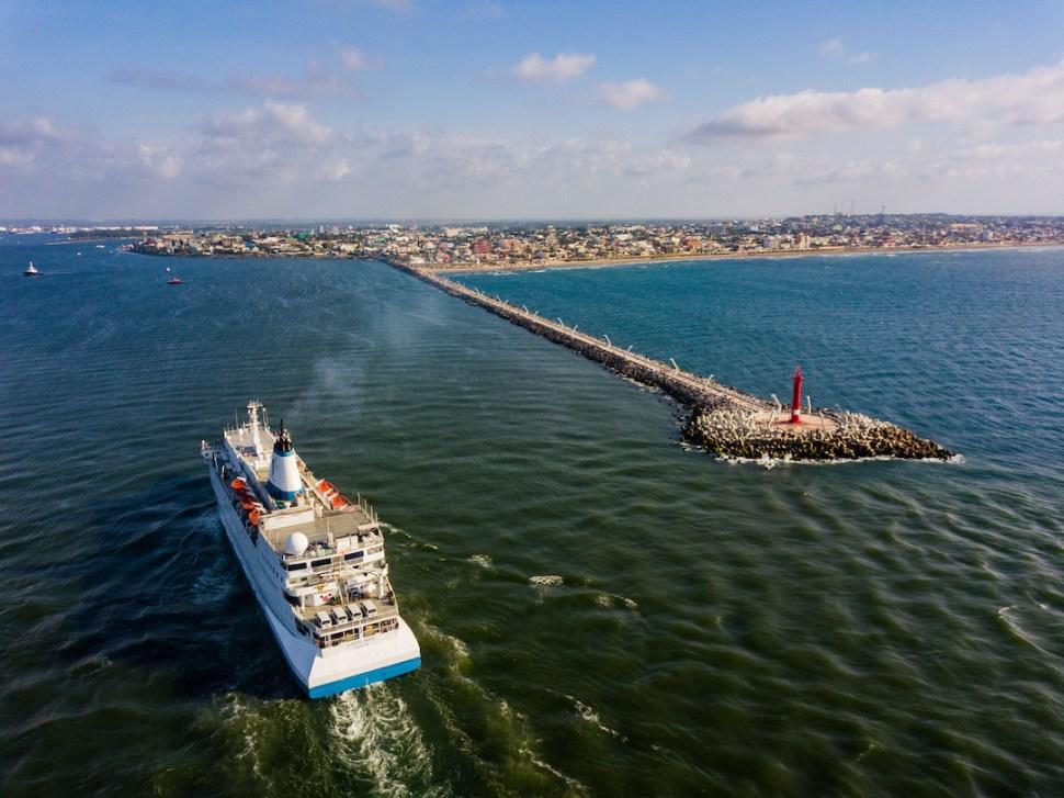 Foto: Muelle en Veracruz. Agosto 2019