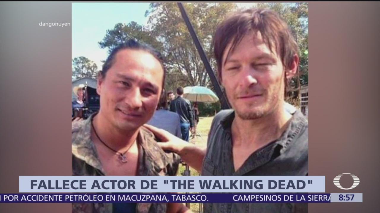 Muere actor de 'The Walking Dead' por cáncer