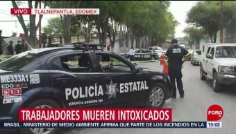 Foto: Mueren Trabajadores Desazolve Alcantarilla Tlalnepantla 22 Agosto 2019