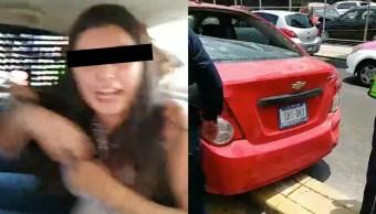 Mujer Atropella Abuelita, Mujer Atropella A Motociclista, Mujer Atropella A Uber Eats, Mujer Atropella, Coyoacán, Avenida Del Imán