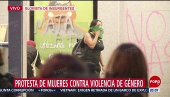 Foto: Mujeres Destrozan Estación Insurgentes Metrobús Cdmx hOY 16 Agosto 2019