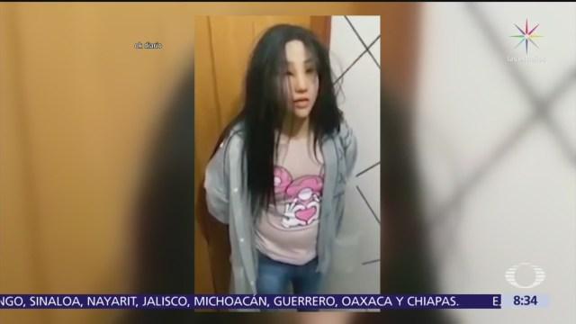 Narco se disfraza para parecerse a su hija y huir de prisión