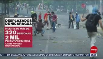 Foto: Nicaragüenses Reprimidos Gobierno Huyen País 27 Agosto 2019
