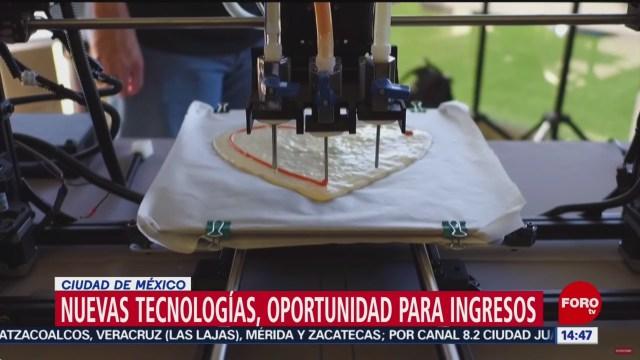 Foto: Nuevas Tecnologías Oportunidad Generar Ingresos 23 Agosto 2019
