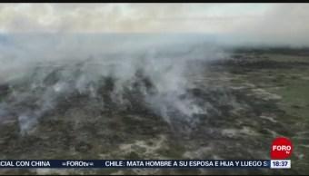 Foto: Nuevo Incendio Reserva Sian Ka´An Quintana Roo