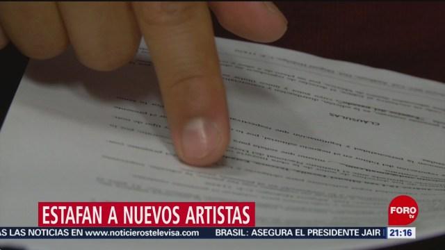 Foto: Nuevos Artistas Víctimas Estafas