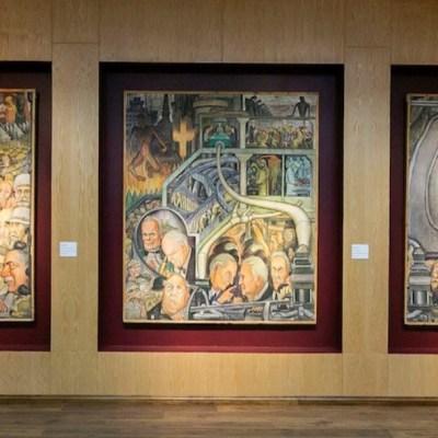 SNTE expone millonarias obras de arte incautadas a Elba Esther Gordillo