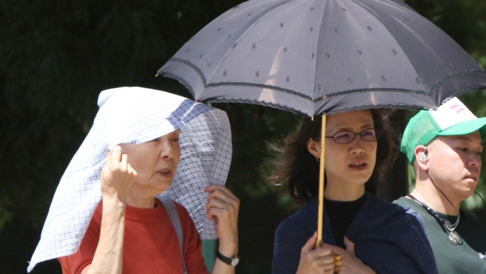 FOTO Mueren 57 personas por ola de calor de Japón (AP)