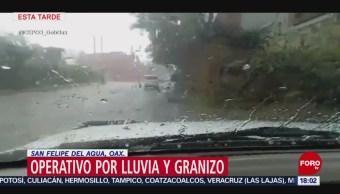 Foto: Operativo Por Lluvias Granizada Oaxaca