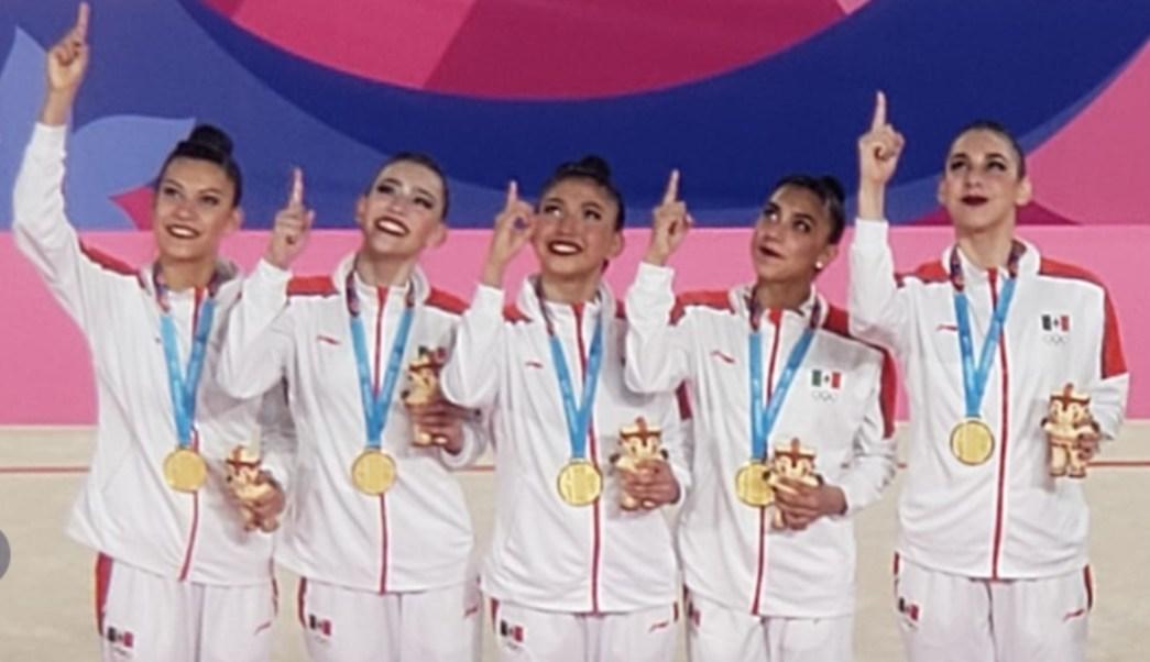 Resultado de imagen para El equipo mexicano de gimnasia rítmica hace historia en Lima