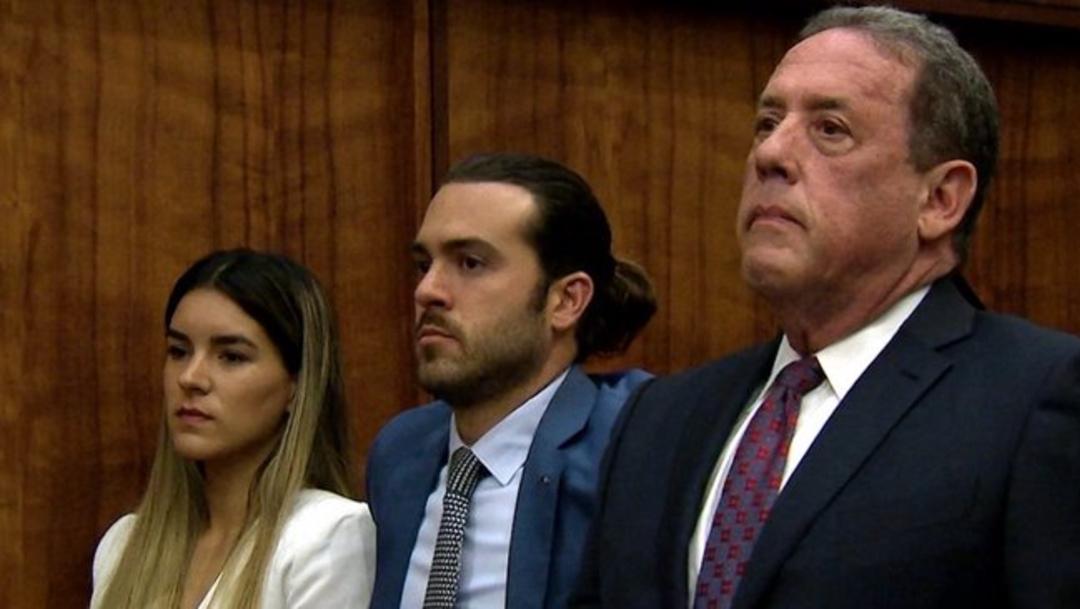 Foto: El actor Pablo Lyle durante su audiencia en una corte de Florida, 1 agosto 2019
