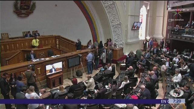 Parlamento venezolano rechaza que México acepte embajador