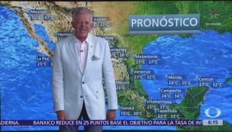 Persiste ambiente muy caluroso en estados del norte de México