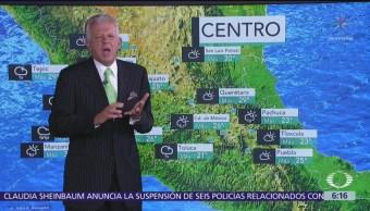 Persisten lluvias y altas temperaturas en la mayor parte de México
