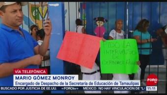 Podría ser separado del cargo a director de escuela en Altamira, Tamaulipas