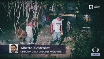 FOTO: Policías asesinan migrante salvadoreño Saltillo,