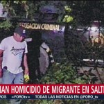 FOTO: Policías matan migrante Saltillo Coahuila