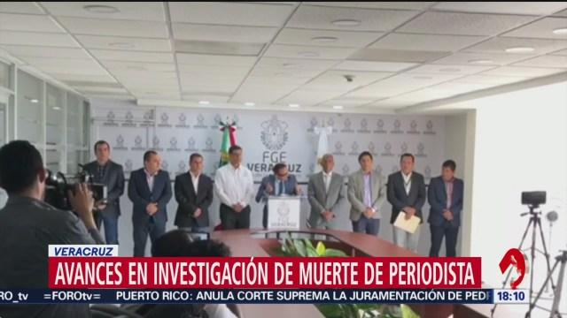 Foto: Presentan avances homicidio periodista Jorge Celestino Ruíz Veracruz,