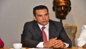 Foto: PRI lamenta renuncia de Ivonne Ortega, pero la respeta, dice Alejandro Moreno 16 agosto 2019