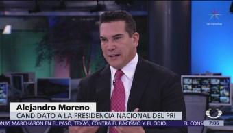 PRI le va a ganar a Morena y regresará al poder: Alejandro Moreno