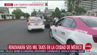 Foto: Renovación Taxis Cdmx 19 Agosto 2019
