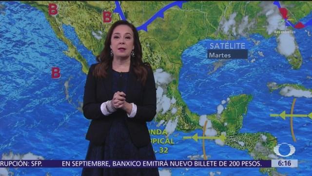 Pronostican lluvias en 31 estados de la República Mexicana