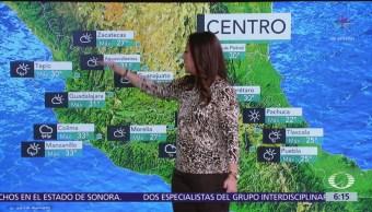 Pronostican lluvias muy fuertes en Península de Yucatán