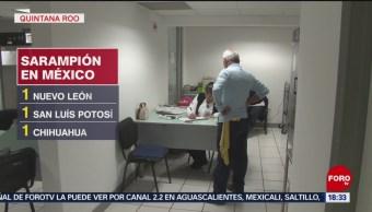 Foto: Quintana Roo Confirma Cuarto Caso Sarampión 23 Agosto 2019