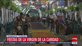 FOTO: Realizan Tapetes Por Feria Huamantla Tlaxcala