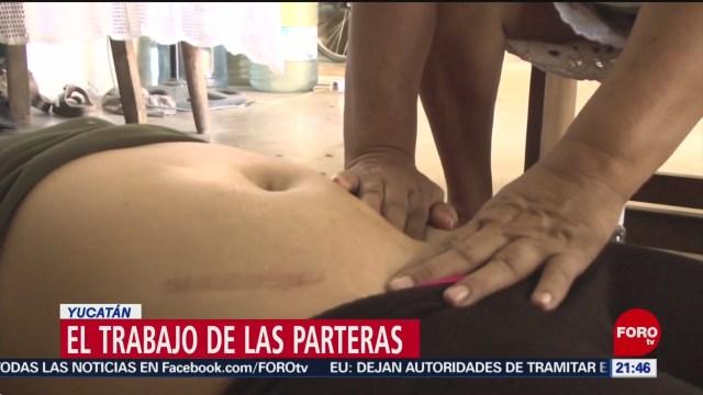 Foto: Reconocen Trabajo Parteras Yucatán Salud 27 Agosto 2019