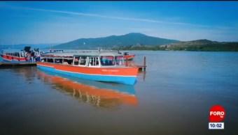 Recorrido por el lago de Pátzcuaro